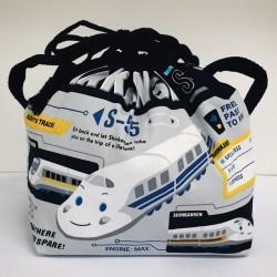 Shinkansen Lunch Drawstring Bag:Future