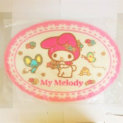 My Melody Bathroom Carpet Butterfly