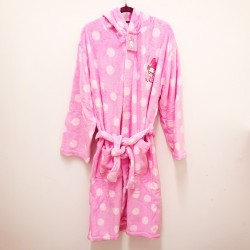 My Melody Adult Bath Robe Dot