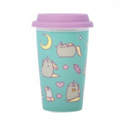 Pusheen Ceramic Travel Mug Pusheenicorn