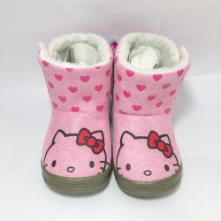 Hello Kitty Kids Boots 15cm Pink