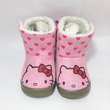 Hello Kitty Kids Boots 15cm Pink