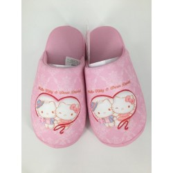 Hello Kitty Slipper 26cm Pink Rose With Dear Daniel