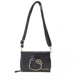 Hello Kitty Shoulder Bag with Built in Wallet