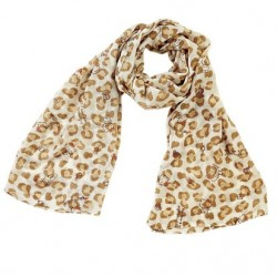 Hello Kitty Stole: Leopard