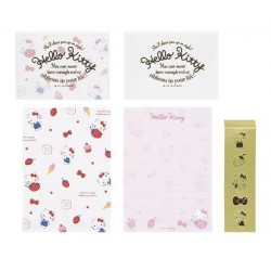 Hello Kitty Mini Letter Set: Strawberry