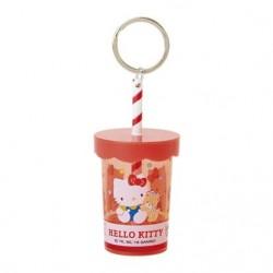 Hello Kitty Plastic Cup Key Chain: