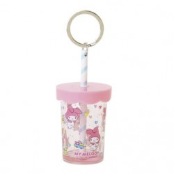 My Melody Plastic Cup Key Chain: