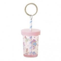 Little Twin Stars Plastic Cup Key Chain: