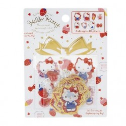 Hello Kitty Stickers: Strawberry