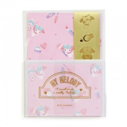 My Melody Mini Letter Set: Cosmetics