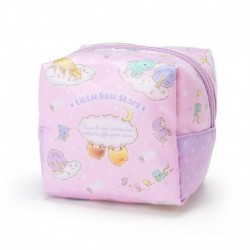Little Twin Stars Laminated Pouch: Small Cube
