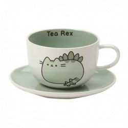 Pusheen Teacup And Saucer Set Tea Rex