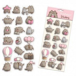 Pusheen Puffy Stickers Sheet