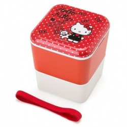 Hello Kitty 2-Tier Lunch Case: Square