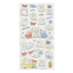Marumofubiyori Foamed Stickers: