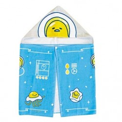 Gudetama Hooded Towel: Planet
