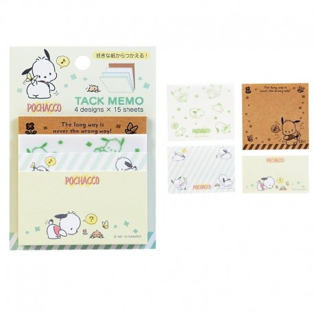 Pochacco Sticky Notes: Cute