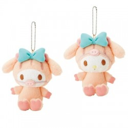 My Melody Key Chain with Mascot: Boar