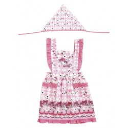 Hello Kitty Kids Apron Set: 120 Fashion