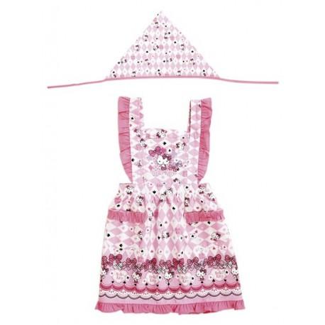 Hello Kitty Kids Apron Set: 120 Fashion