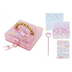 Hello Kitty Origami Set in Lock Case