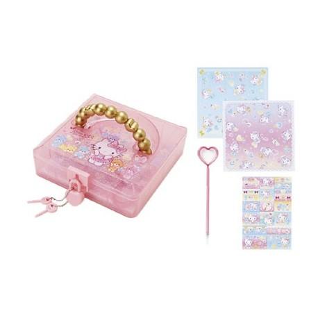 Hello Kitty Origami Set in Lock Case