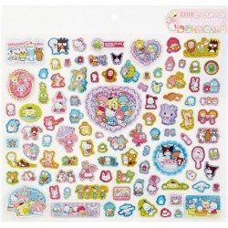 Assorted Characters 100Pcs Stickers: