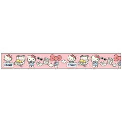 Hello Kitty Paper Tape:10Mm X 10M Travel