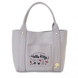 Hello Kitty Canvas Tote Bag: Milk