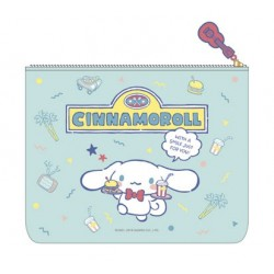 Cinnamoroll Flat Pouch: Vacation