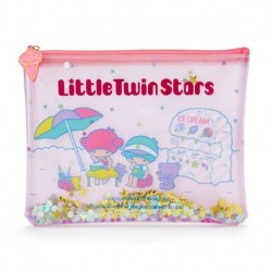 Little Twin Stars Flat Pouch: Vacation