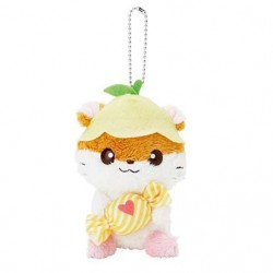 Coro Coro Kuririn Key Chain with Mascot: