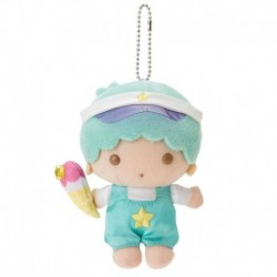 Little Twin Stars Key Chain with Mascot: Kiki Vacation