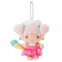 Little Twin Stars Key Chain with Mascot: Lala Vacation