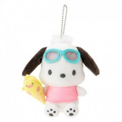 Pochacco Key Chain with Mascot: Vacation