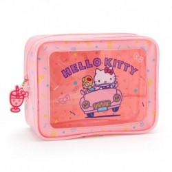Hello Kitty Vinyl Pouch: Vacation