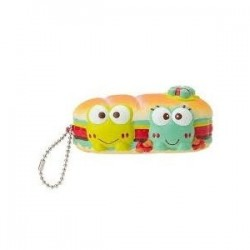 Keroppi Key Chain with Mascot: Squeeze