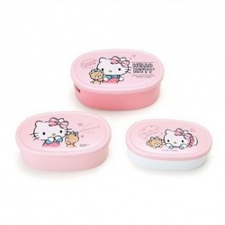 Hello Kitty 3 Pieces Lunch Case: Talk