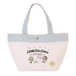 Little Twin Stars Canvas Mini Tote Bag: Red Skate