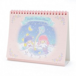Little Twin Stars Desk Calendar: 2020