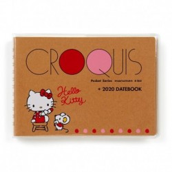Hello Kitty Datebook: B6 Croquis 2020