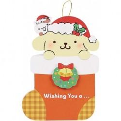Pompompurin Christmas Card:Pn Jx 96-9