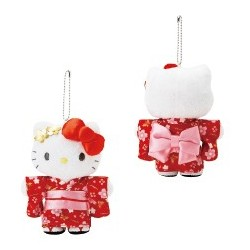 Hello Kitty Key Chain with Mascot: New Year