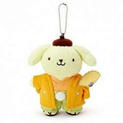 Pompompurin Key Chain with Mascot: New Year