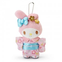 My Melody Key Chain with Mascot: New Year
