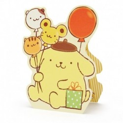 Pompompurin Greeting Card : Multi Purpose 5-9