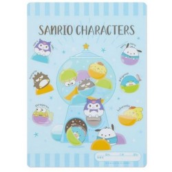 Assorted Characters Plastic Pad: Capsule