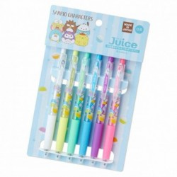 Assorted Characters 6Pcs B.Pen Set: Capsule
