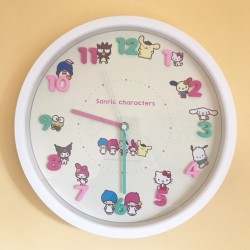 Assorted Characters Wall Clock